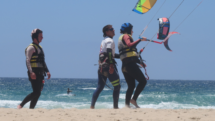 spanish course and kite Tarifa
